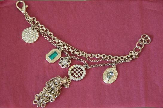 Lulu Frost for J.Crew heirloom charm bracelet
