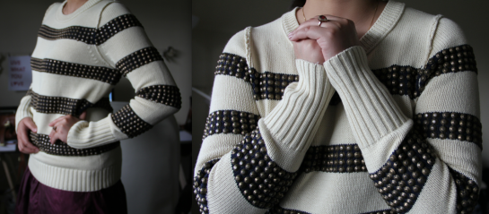 J.Crew Natalie Studded Sweater