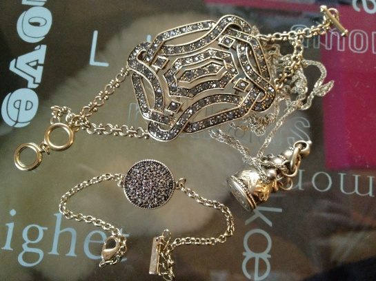 JewelMint Savoy Bracelet, Humanity Bracelet, Sealed With Love Necklace
